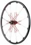 CRANKBROTHERS Paire de roues Cobalt 3 26'' Axes 15/12x142mm Noir Rouge