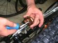 UNIOR Levier écarteur de pistons de freins hydrauliques