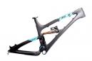 YETI 2014 Frame SB66 Carbone 26'' Noir/Turquoise + Rear shock Fox Float X