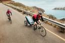 THULE Remorque Enfant 2 Places CHARIOT CX2 kit vélo Bleu