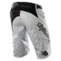 TROY LEE DESIGNS Short SPRINT TURISMO Blanc Motif Gris