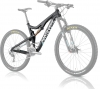 SANTA CRUZ 2015 Frameset 5010 Carbon 27.5'' Fox CTD Kashima 125mm Black White
