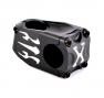 PLANET X FLAME 31.8x50mm 0 ° Stem Black