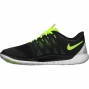 NIKE Chaussures FREE 5.0 Noir Jaune Homme