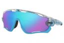 Oakley Jawbreaker Crystal Pop Collection Glasses Matte Clear / Prizm Sapphire OO9290-4031