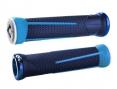 ODI Paire de Grips AG-1 Lock-On Bleu