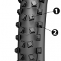 MICHELIN WILDMUD ADVANCED Tubeless Ready Tire 29''x2.00