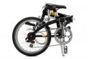 TERN Vélo Pliant Link C7 Noir/Jaune