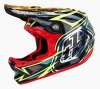 Casque intégral Troy Lee Designs D3 SPEEDA Carbone Jaune