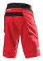 TROY LEE DESIGNS Short MOTO SOLID Rouge