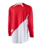 ONE INDUSTRIES 2015 Maillot Manches Longues GAMMA SOLID Rouge/Blanc