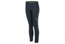 James et Nicholson collant running jogging JN479 - gris fer - vert - femme - course à pied
