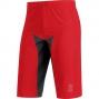 GORE BIKE WEAR Short ALP-X PRO WINDSTOPPER® Soft Shell Rouge/Noir