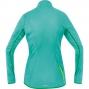 GORE BIKE WEAR Veste Femme COUNTDOWN WINDSTOPPER Soft Shell Light Turquoise/Jaune