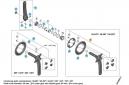 SHIMANO Kit Fixations Double Plateaux Pédalier XTR M9000