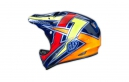 Casco Integral Troy Lee Designs D2 proven Bleu
