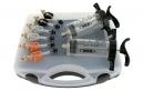 VAR Kit de purge de frein à disque hydraulique - seringues noires