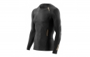 Maillot Manches Longues de Compression Skins A400 Homme Noir