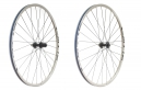 "Shimano MT15 29"" MTB Wheelset - CenterLock 15mm Front QR Rear White"