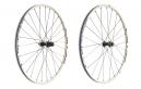 SHIMANO Paire de roues MT35 Disc CenterLock Av 15mm Ar 9mm 29´´ Blanc