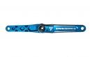 RACE FACE Pédalier TURBINE CINCH Axe 30mm Sans Boitier Sans Plateau Bleu