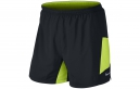 NIKE Short PURSUIT 2-in-1 12.5cm Noir Volt Homme