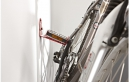 Mottez Wall-Mounted Bike Rack Pedal Hanger