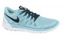 NIKE Chaussures FREE 5.0 Bleu Femme