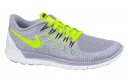 NIKE Chaussures FREE 5.0 Gris Jaune Femme