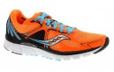 Chaussures de Running Saucony Kinvara 6 Bleu / Orange