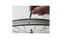 VAR Kit 2 Valves Tubeless Aluminium 35 mm Bleu