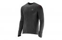 SALOMON T-Shirt Homme PARK LS TEE M Noir