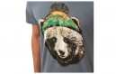 ANIMAL T-Shirt BOBBLE Steel Blue