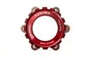 ASHIMA Adaptateur Roue Center Lock 15/20mm pour Disque 6 trous Rouge