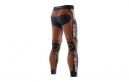 Collant Long X-BIONIC THE TRICK Running Noir/Orange