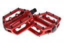 SB3 Pédales FAST Rouge Aluminium
