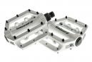 SB3 Pédales FAST Blanc Aluminium