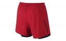 NIKE Short 2-en-1 PHENOM 2-in-1 12,5cm Rouge Homme