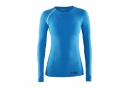 CRAFT Maillot Manches Longues BE ACTIVE EXTREME Bleu Femme