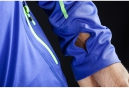 CRAFT Maillot Manches Longues TRAIL Bleu Gecko