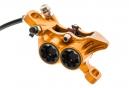 HOPE Frein Avant Tech 3 E4 Durite Standard Orange - Sans disque ni adaptateur