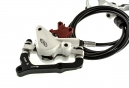 2012 Avid Elixir 5 Disc Brake Rear White + 160mm HS1 PM / IS - Refurbished Product