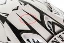 Casque intégral Fox RAMPAGE Noir Blanc Taille L - Produit Reconditionné