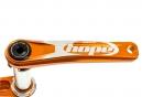 HOPE Manivelles Mono68/73mm Orange (sans Spider ni Plateau)