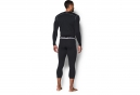 UNDER ARMOUR Collants 3/4 de Compression COLDGEAR EVO Noir