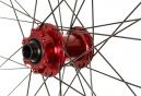 ASTERION Paire de Roues XC LTD 29´´ | Axe 15mm | 135x9mm | Rouge