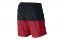 NIKE Short DISTANCE 18cm Noir Rouge Homme