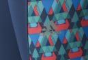 ADIDAS  Collant RUN TECHFIT TRIAX-PRINT Bleu Femme