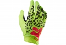 FOX Paire de Gants Longs DEMO AIR Jaune