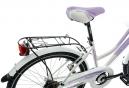 Vélo Enfant Lombardo Panarea 6v 24'' Blanc / Violet